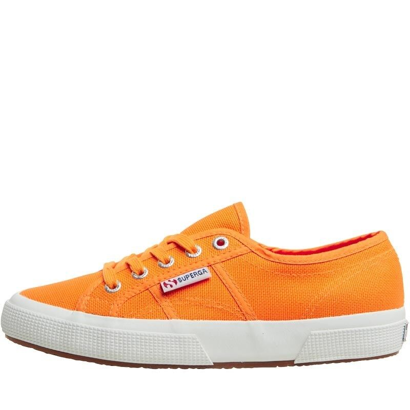 Superga 2750 COTU Classic Canvas Pumps, Bright orange, BNIB