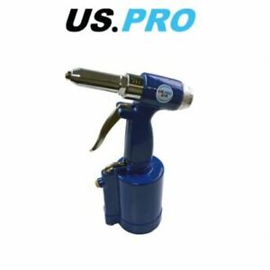 US-PRO-Professional-Air-Hydraulic-Rivet-Gun-Pop-Riveter-Power-Tool-8170