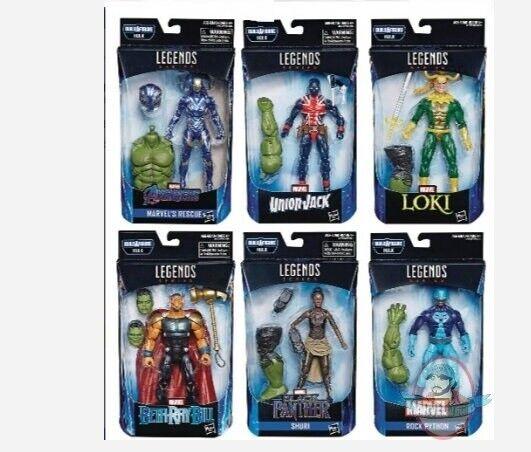 Los Vengadores 4 Leyendas Figura de acción de la Caja de 8 Hasbro 201902