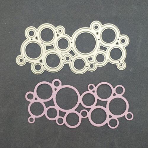 Garland circle metal cutting dies stencil scrapbook paper embossing craft W PQ