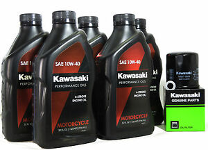 2006 Kawasaki Ninja ZX 14 Oil Change Kit | eBay