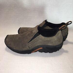 Merrell-Men-039-s-Jungle-Moc-Gunsmoke-Slip-On-Suede-Shoes-size-US-8-5-J60787