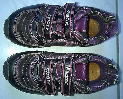 ==> Geox Scarpe Con Velcro Tg. 28