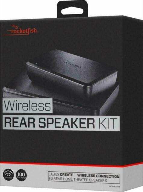 Rocketfish Wireless Home Theater Rear Speaker Kit - Model: RF-WRSK10