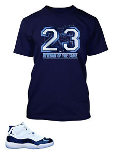 cc11880eadb0c6 Tee Shirt To Match AIR JORDAN 11 Veteran of the Game T Short Sleeve ...