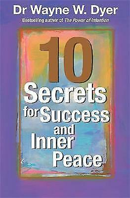 1 of 1 - Good, 10 SECRETS FOR SUCCESS AND INNER PEACE, , Book
