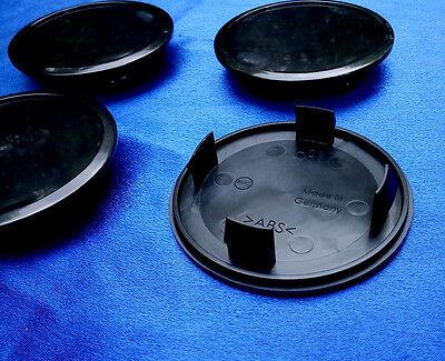 5 x Nabenkappen Nabendeckel Felgendeckel 68,5-55,5 mm A01 NEU schwarz