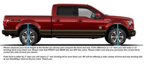 """Chevy Tahoe 2/"""" Billet Rear Lift Blocks Kit SR Sierra Silverado 1500 Tacoma"""