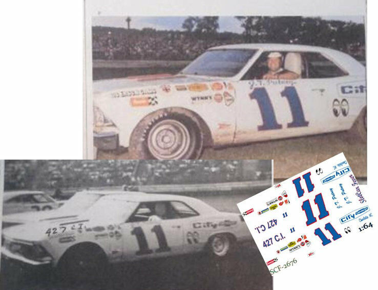 CD/_1930 #88 Flookie Buford 1963 Chevy Chevelle  1:24 Scale DECALS