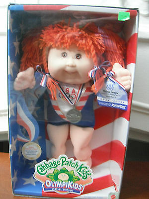 CPK Cabbage Patch Kids OLYMPIKIDS Special Edition 1996 Gymnastics MIB Orange Hr