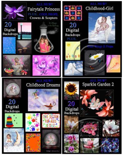 CUSTOM Made-4-U FANTASY Portraits~Mermaids~Fairtyale~Dinosaurs~Space~Zombie+MORE