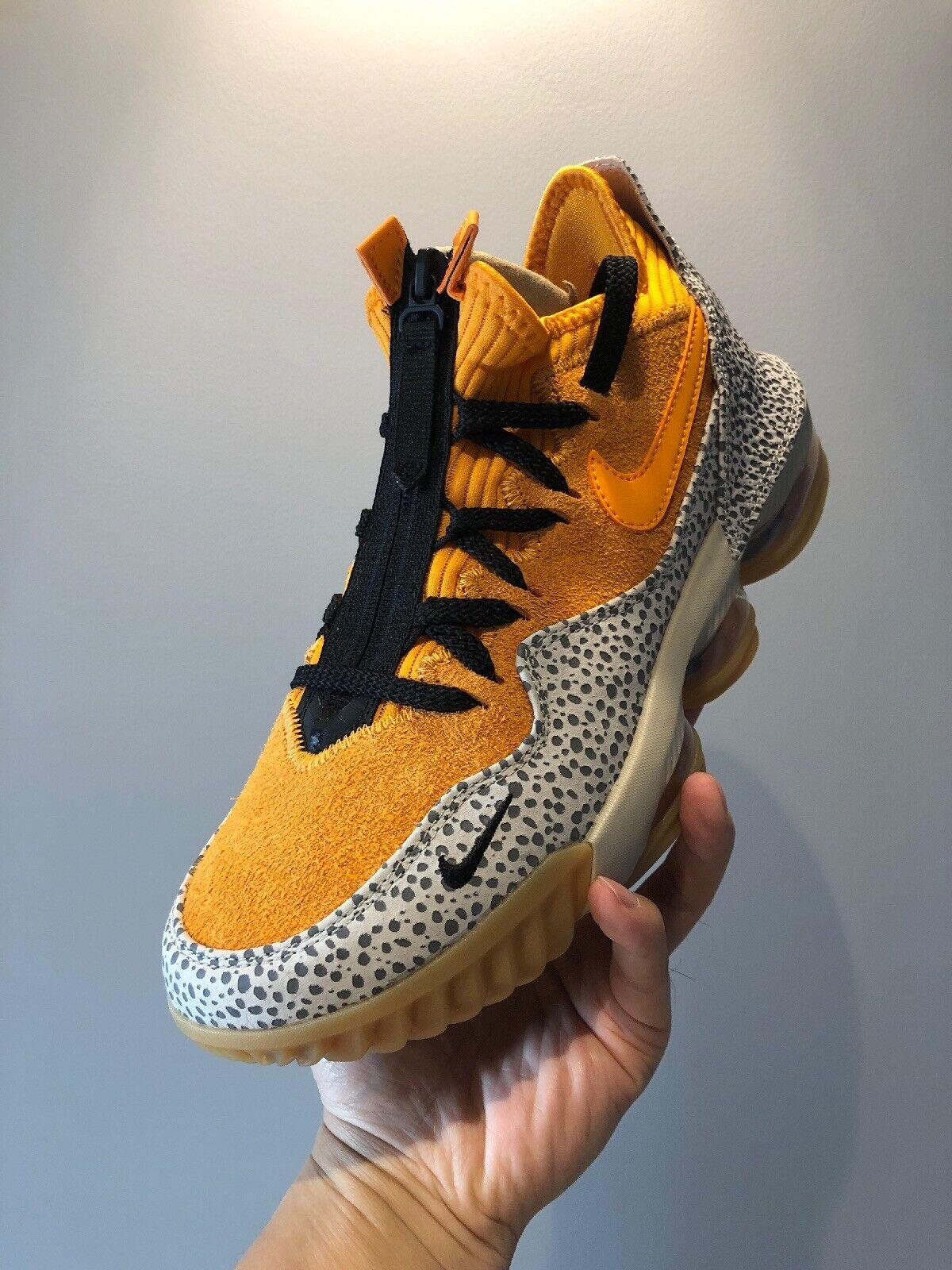 Nike LeBron 16 Faible Safari   CD9471-800 UK6.5 US7.5 EU40.5