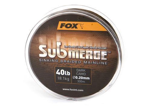 Fox Submerge Sinking Sinking Sinking Braided Mainline 600m ( /m) 5c2d9c