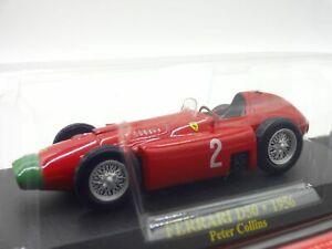 Ferrari-Collection-F1-D50-1956-Peter-1-43-Scale-Box-Mini-Car-Display-Diecast