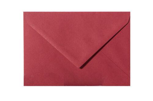 10 farbige Umschläge Kuverts Briefumschläge 140 x 190 mm 120 g//qm div Farben