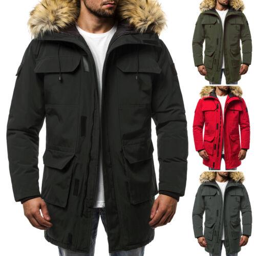 Wintercoat Wintermantel Js Ozonee Winterjacke Wärmemantel Herren 201806 Parka fq8vw1Y
