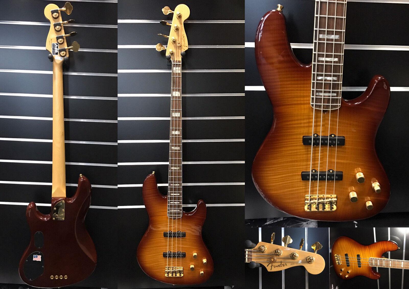 Fender American Deluxe Jazz Bass FMT RW  Jahr 2005   Sofort Lieferbar