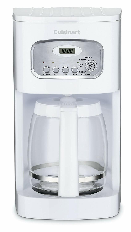 Cuisinart DCC-1100 12-Cup programmable Cafetière, Blanc