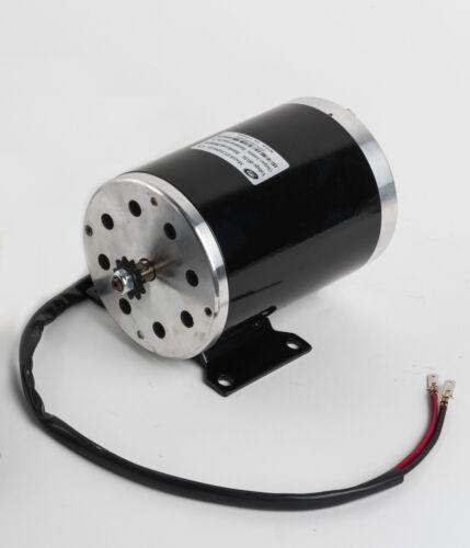 #35 sprocket 1000W 48V GoKart Motor+Controller+keylock+foot Throttle+Charger