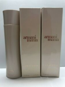 Lot-of-3-Armani-Mania-by-Armani-6-7-oz-Body-Lotion-Old-Stocks-Please-Details