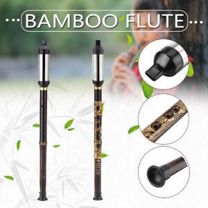 Cinese Drago Etnico Strumento Bamboo Tubo Bawu Flauto Tune G / Femmina