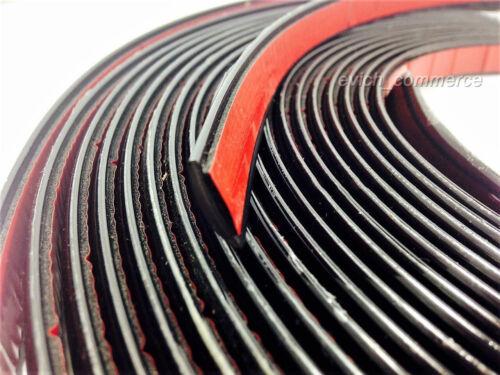 20mm x 2m SCHWARZ ZIERLEISTE LEISTE SELBSTKLEBEND FLEXIBEL AUTO PKW MOTORRAD