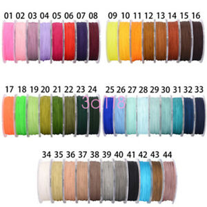 1Roll-Nylon-Cord-Thread-Chinese-Knot-Macrame-Bracelet-Braided-Cord-25M-0-8MM