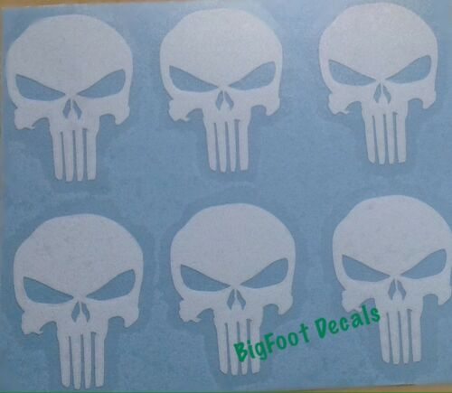 Punisher Decals 5 Small Sniper Navy Seal Army AR15 Mag Car Truck American Mini/'s
