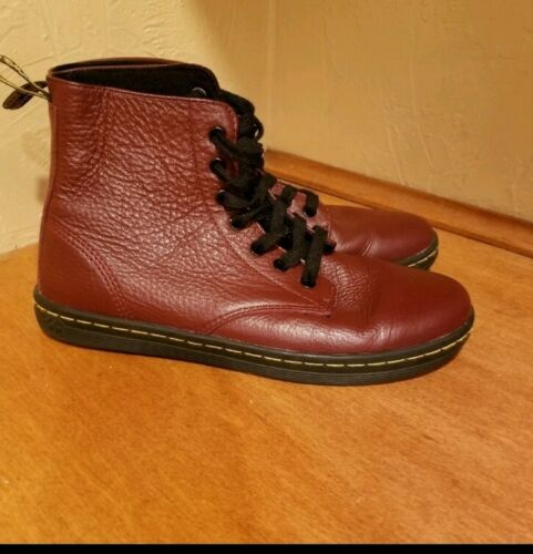 Dr Martens Leather High Top Shoes Size 8