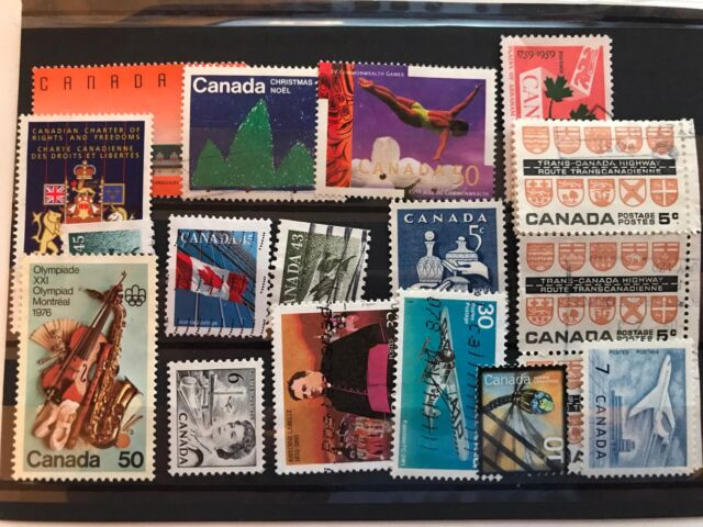 Canada 19 stamps used very fine