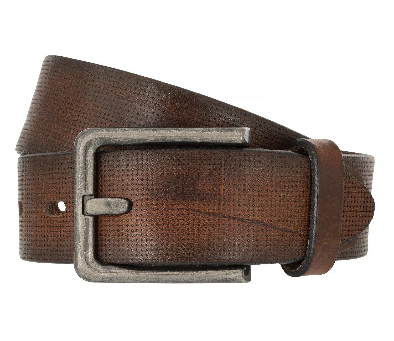 Alberto Men's Belt Belt Leather Belt Cognac 8702