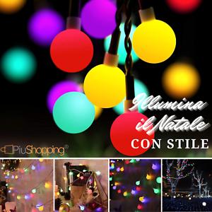 Serie-Lumieres-100-LED-Ampoules-Fetes-Fete-Decorations-Noel-Multicolore