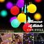 Serie-Lumieres-100-LED-Ampoules-Fetes-Fete-Decorations-Noel-Multicolore miniature 1