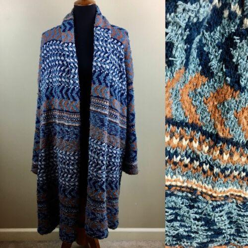 Free People long chunky knit oversized cardigan sw