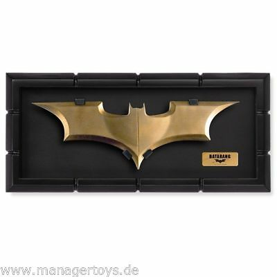 Aufsteller & Figuren KöStlich Batman Batarang The Dark Knight Rises Batarang Replika Von Noble Einen Einzigartigen Nationalen Stil Haben