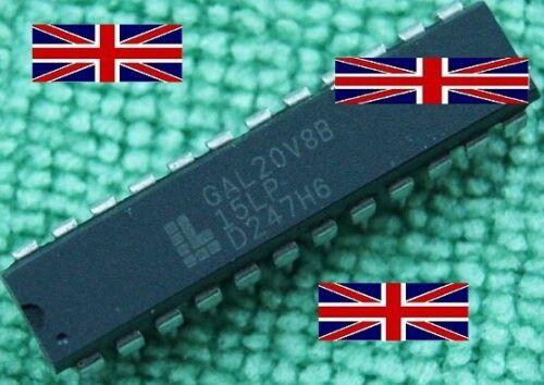 GAL20V8B GAL20V8B-15LP GAL20V8B15LP DIP-24 circuito integrado de celosía