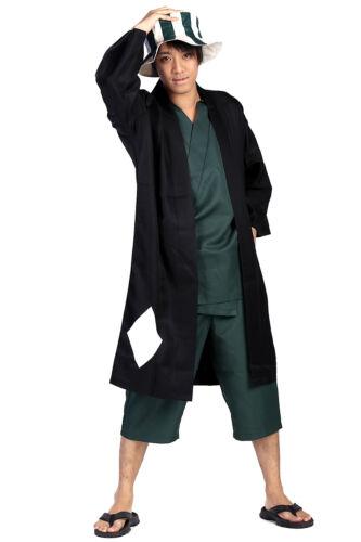 Bleach Cosplay Costume Former 12th Division Captain Urahara Kisuke Outfit Set V2