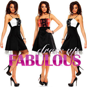 NEW-SEXY-WOMEN-039-S-DRESS-PARTY-FORMAL-COCKTAIL-EVENING-Size-2-4-6-8-10-XS-S-M
