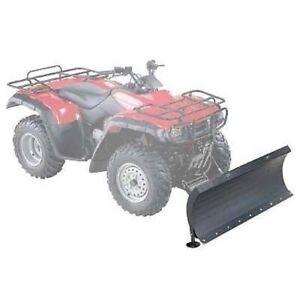 """Universal ATV Plow Blade & Mounting Kit - 50"""" x 22"""" Blade - 1/8"""" Steel"""
