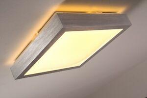 Détails sur Plafonnier LED Métal Luminaire de salle de bains Lampe  suspension carrée 121469