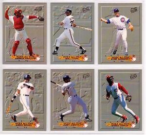 Details About 1993 Fleer Ultra Baseball All Star Complete Set Ken Griffey Jr