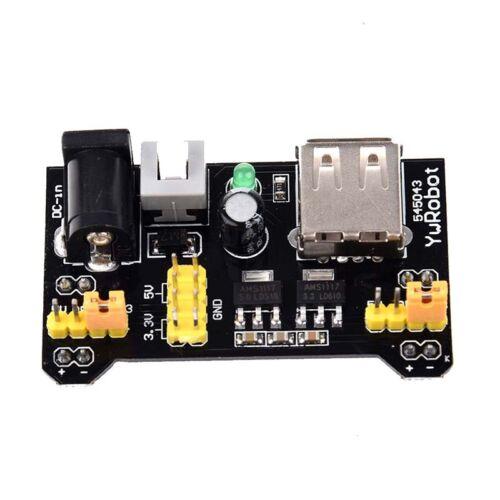 Rangliste MB102 Breadboard 3.3V//5V Power Supply Module 3.3V//5V Fuer Arduin PT 4X