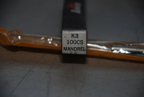 Sunnen Mandrel K3 100CS Made in USA INV=6693 NEW