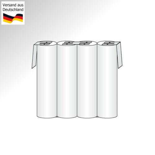 4,8V Akkupack AAA NiMH 700mAh Akku 4.8 Volt Rechargeable Battery Wiederaufladbar