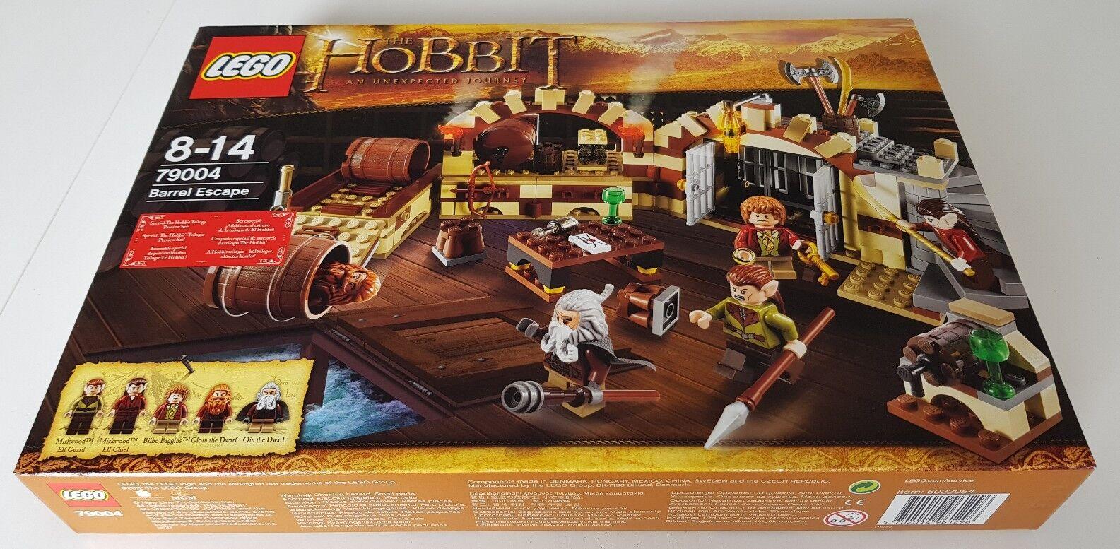LEGO DER HOBBIT: Die große Flucht (79004) ORIG. VERSIEGELT - MISB - FÜR SAMMLER