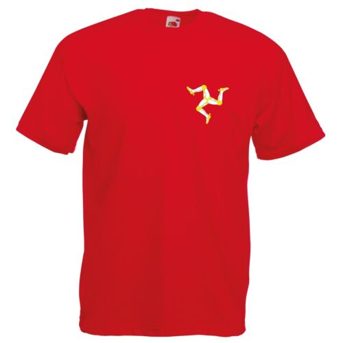 Isle of Man T-Shirt Manx TT Motorcycle Enthusiast VARIOUS SIZES /& COLOURS