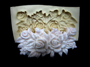 Silicone Mold Chocolate Polymer Clay Jewelry Soap Wax Resin Ribbon Molding #1