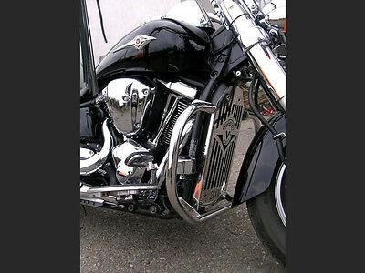S) Kawasaki Vulcan VN 2000 Highway Crash Bar Engine Guard Stainless Steel