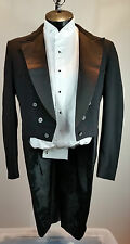 Men's Black Tail Coat- Costume, Choir, Stage, Theater- 37R #29