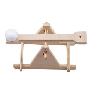 Details About Leonardo Da Vinci Pathfinders Working Wooden Model Kit Easy Assemble Toys Fm